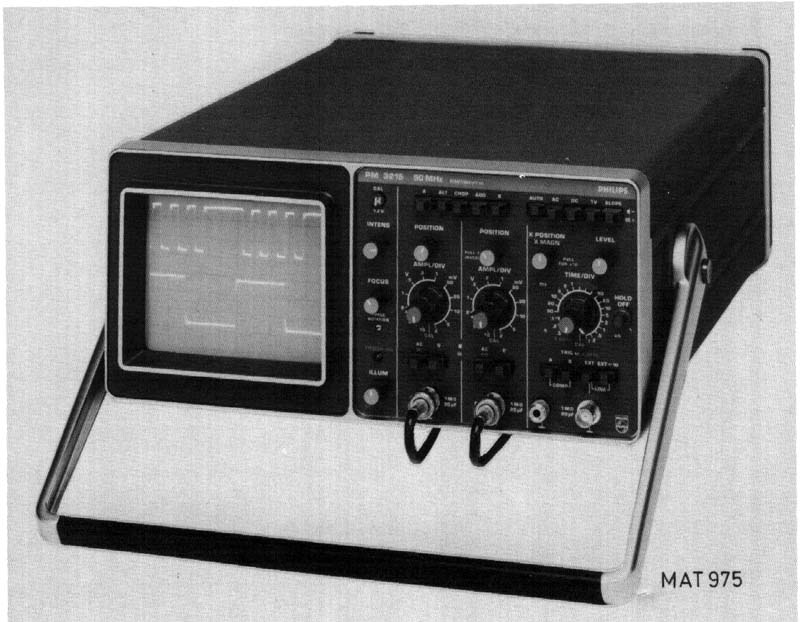 Image of Philips PM3215 Oscilloscope